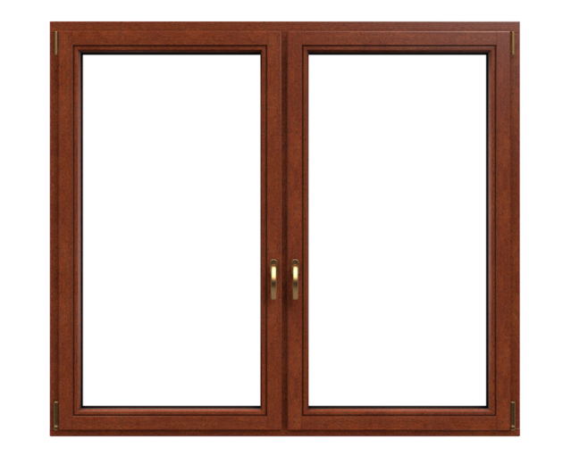 Drutex Fensterprofil Softline 68 - Holzfenster - Fenster - Balkontür - Kiefer - Meranti