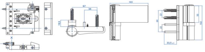 Maco Beschlag - Haustürbeschlag - Türband HAPS P700  - 3D Justierung Drutex S.A. - B&F Fensterhof