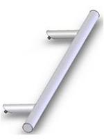 Drutex Haustürbeschlag - Stoßgriff - P45 Stossgriff - Haustürgriff - Eingangstür - Aussentür