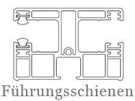 Drutex Profile - Zubehör - Führungsschienen - Rollladenführung - B&F Fensterhof