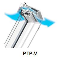 Schwingfenster PTP-V - Fakro Dachfenster aus Kunststoff - Dachfenster - Polnische Dachfenster