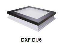 Fakro Dachfenster - Flachdachfenster DXF DU6 - Dachfenster ohne Öffnungsfunktion - Fensterhof