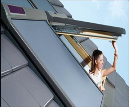 Fakro Netzmarkise - Dachfenster AMZ Solar - Dachfenster Zubehör