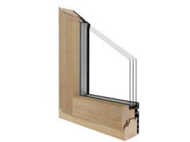 Drutex Fensterprofil Duoline - Holz Aluminium Fenster - Fenster - Balkontür