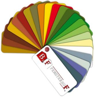 Drutex Fenster Farben - RAL - RAL Farbfächer - Farben - Fenster - Türen - Rollläden - B&F Fensterhof