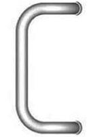 Drutex Haustürbeschlag - Stoßgriff - M2 Stossgriff - Haustürgriff - Eingangstür - Aussentür