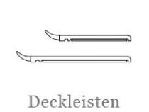 Drutex Profile - Zubehör - Deckleisten - Abdeckleisten - B&F Fensterhof