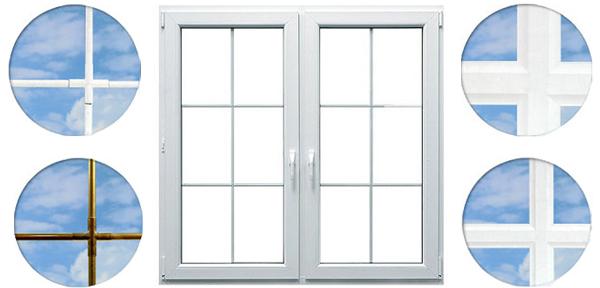 Drutex Sprossen - Sprossen - Innenliegende Sprossen - Kunststoff Sprossen - B&F Fensterhof