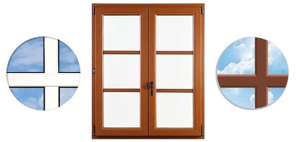 Drutex Sprossen - Sprossen - Aufgesetzte Sprossen - Kunststoff Sprossen - B&F Fensterhof