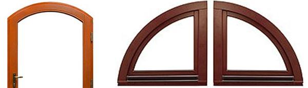 Drutex Fenster - Türen - Schiebetüren - Balkontüren - Sonderformen - Rundbogen - Rundbögen - Stichbogen - B&F Fensterhof