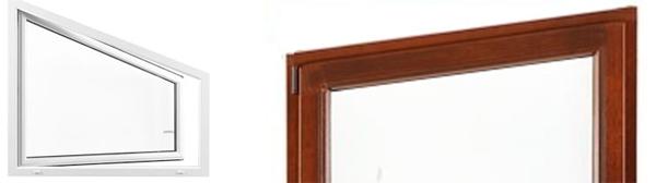 Drutex Fenster - Türen - Schiebetüren - Balkontüren - Sonderformen - Schräger Rahmen - B&F Fensterhof