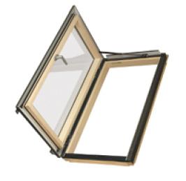 Fakro Ausstiegsfenster - Thermoisolations Ausstiegsfenster - Fensterhof - Holz Dachfenster