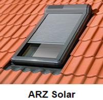Fakro Dachfenster Rollladen - Außenrollladen - Aussenrollladen - Elektro Antrieb - Solar Betrieb - Modell ARZ Solar - B&F Fensterhof