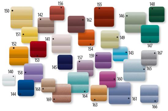 Fakro Innenrollo für Dachfenster Lamellenfarben - Dachfenster Jalousie - Jalousie AJP und AJP Z-WAVE Farben- Dachfenster Zubehör
