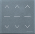 Fakro Dachfenster - Kabelloser Design Wandschalter ZWG3 - Fakro Wandschalter - elektrischer Antrieb für Dachfenster - Rollläden - B&F Fensterhof