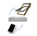 Fakro Dachfenster Steuerung - Steuerung Rollladen Internetgateway - Gateway Steuerung WWW - Dachfenster per Handy steuern