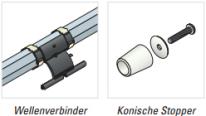 Wellenverbinder - Stopper - Rollladen Zubehör - Simu GmbH - Somfy
