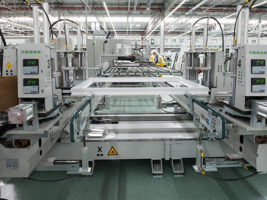 Produktion Kunststoffprofile für Fenster und Türen - Drutex S.A.