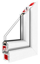 Kunststofffenster Iglo 5 - GL System - Drutex