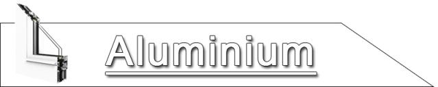 Aluminiumfenster, Fenster aus Aluminium