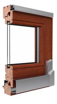 PSK Schiebetür aus Holz - Drutex Softline Parallel- Schiebe- Kipptür