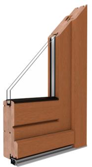 Softline 68 - Haustüren aus Holz von der Firma Drutex