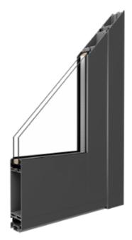 MB-45 - Aluminium Haustür Profil - Kaltes System ohne thermische Trennung - Aluprof
