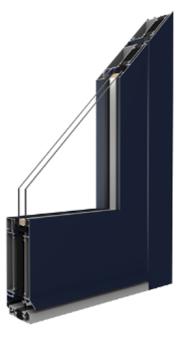 MB-70HI - Aluminium Haustür Profil mit thermischer Trennung - Aluprof