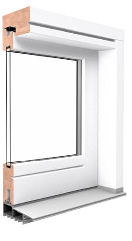 Profilschnitt - Hebe Schiebetür Softline HS vom Hersteller Drutex