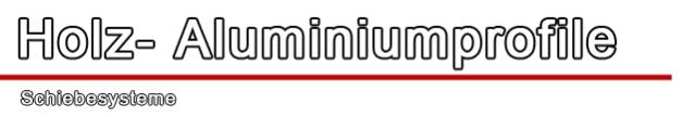 Schiebesysteme Duoline - Drutex Duoline - Holz Aluminium Schiebesysteme - Aluprof