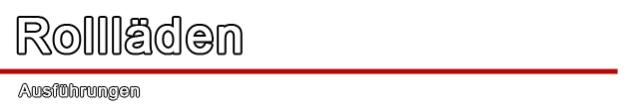Rollladen - Rolladen - Aufsatzrollladen - Vorsatzrollladen - Unterputzrollladen - Drutex