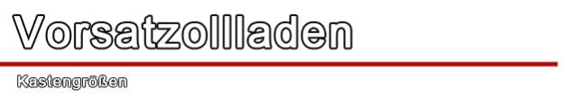 Vorsatzrollladen - Drutex S.A. - Rollladen - Rolladen - Adaptionsrolladen
