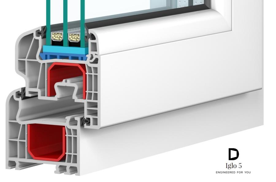 B f fensterhof iglo 5 5 kammer kunststofffenster for Kunststofffenster hersteller